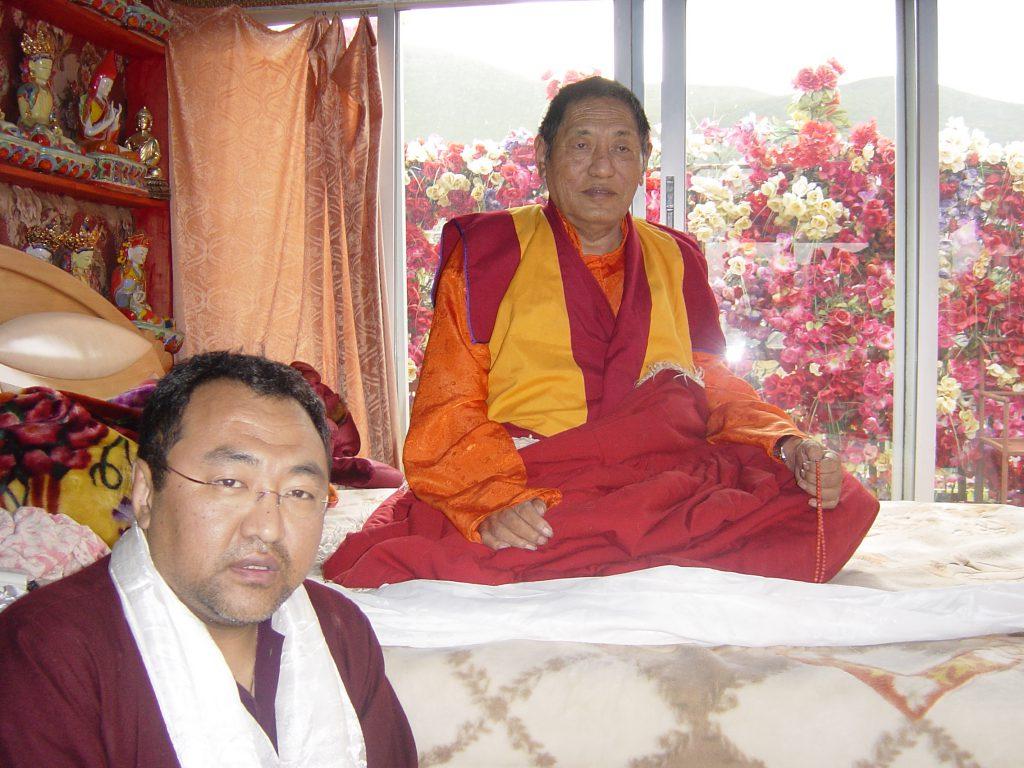 HH Jigme Phuntsok Rinpoche and Jigme Rinpoche